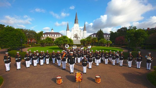 The U.S. Marine Corps Band New Orleans will perform at the BPAC on Wednesday, May 7 at 7:30pm. The concert is free and open to the public.