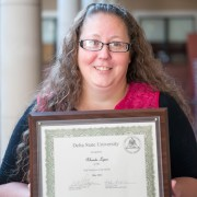 Rhonda Loper, a research and information specialist, is Delta State's May 2014 Employee of the Month.