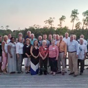 Members of the Gulf Coast Alumni Chapter recently met for their annual gathering. This year's event was held at Bayou Bluff Tennis Club in Gulfport.