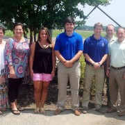 The Desoto County Alumni Chapter recently gathered to establish recipients of the Desoto County Alumni Scholarship.