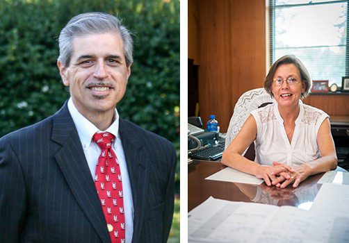 Delta State welcomes Dr. David Breaux as the new dean of the College of Arts and Sciences, along with his new administrative secretary, Margaret McClain.