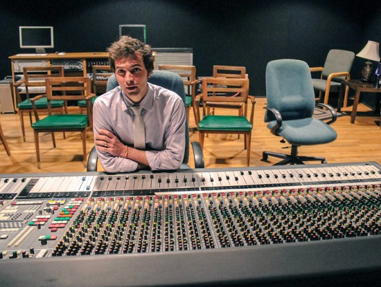 Delta Music Institute instructor Miles Fulwider has spent the summer providing audio engineering to some of the world's top musicians.  Photo by: Emir Sonmez