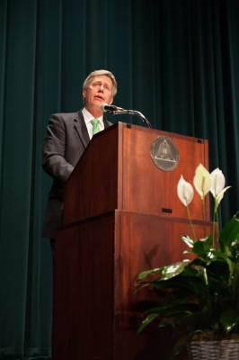 Delta State University President William N. LaForge will deliver the State of the University address Aug. 15 at 10:30 a.m. in the Bologna Performing Arts Center.