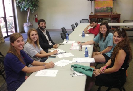 Student leaders of the Delta State University Alumni Association recently held a planning meeting at the Hugh Ellis Walker Alumni-Foundation House.