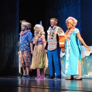 "Regional school districts enjoyed The Bologna Performing Art Center's first School-Time Matinee of the season on Wednesday, ""The Musical Adventures of Flat Stanley."""