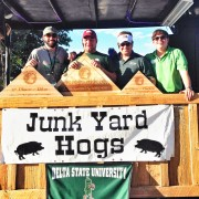 Junk Yard Hogs took home the Grand Champion prize at the 29th annual Pig Pickin' weekend at Delta State University.