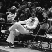 Legendary Lady Statesmen coach Margaret Wade.