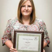 Crystal Beach was honored as the November 2014 Delta State Employee of the Month.