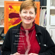 Mollie Rushing is the recipient of the 2014 Mississippi Art Education Association Art Educator of the Year.