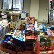 Staff Council brings holiday cheer to Bolivar County children with its annual Toy Drive.
