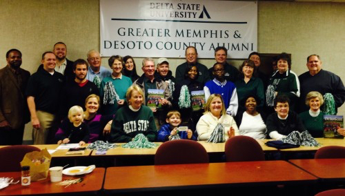 Join the Delta State University National Alumni Association Thursday in Memphis as the basketball Statesmen and Lady Statesmen face Christian Brothers University.