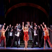 "Broadway's ""Anything Goes"" delighted the Bologna Center for Performing Arts crowd on Tuesday."