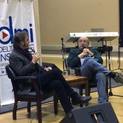 DMI All Access hosted Jonathan Cain, left, of the super group Journey Jan. 27 at the Delta Music Institute.