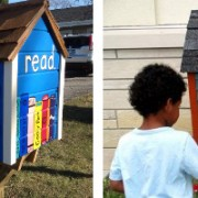 Delta State's chapter of Phi Kappa Phi was awarded a Little Free Library today for its participation in the society's annual Book Drive Competition.