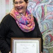 Patricia Webster, administrative assistant for the Delta Center for Culture and Learning, is the March 2015 Employee of the Month.