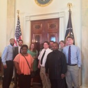 "Delta Music Institute students recently attended ""The History of Gospel Music"" workshop in Washington, D.C."