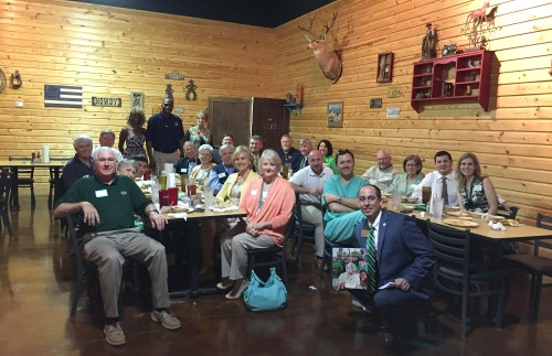 The Delta State University Alumni Association recently hosted the Southeast MS Alumni Chapter Meeting in Hattiesburg.