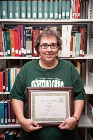 Janet Horne was recently honored as the April 2015 Employee of the Month.