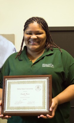 Camesha Benson '05 was named the June 2015 Employee of the Month.