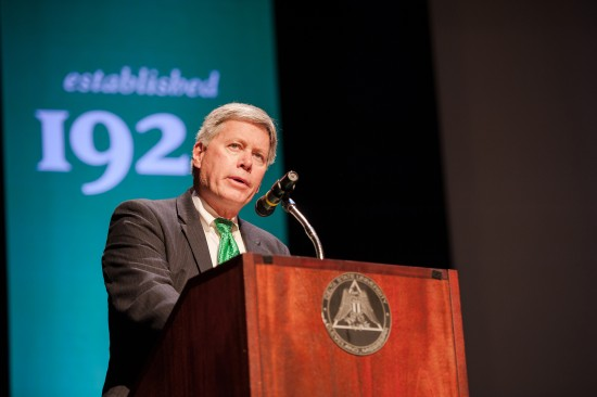 Delta State University President William N. LaForge will deliver the State of the University  address on Aug. 14 at 10:30 a.m. in the Bologna Performing Arts Center.