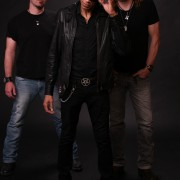 "The Delta Music Institute presents blues-rock stars Grinder Blues Oct. 6 at 10:30 p.m. at Hey Joe's in downtown Cleveland. Band members include Jeff ""Jabo"" Bihlman (left), dUg Pinnick and Scot ""Little"" Bihlman."