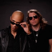 "dUg Pinnick (left) and Scot ""Little"" Bilhman of the band Grinder Blues will be the featured guests for DMI All Access Oct. 12 at 6 p.m. in DMI Studio A."