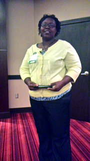 Cora Jackson, instructor and director of Field Education in the Department of Social Work at Delta State, was recently awarded the Mississippi Conference on Social Welfare Individual Merit Award.