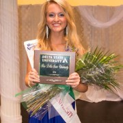 Gillian Oakley was crowned 2016 Miss DSU.