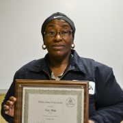 Helen Miller was honored as the November 2015 Employee of the Month.