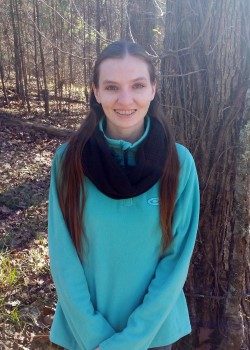 Christine Beck, an environmental science major concentrating on wildlife management, is the recipient of the 2016 Mississippi Association of Conservation Districts Scholarship.