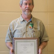 Don Smith was honored as the January 2016 Employee of the Month.