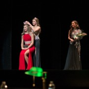 Emily Adams, a freshmen from Boyle, Mississippi, took home the crown for Most Beautiful and was also selected Most Photogenic at the annual Most Beautiful Pageant on Tuesday.