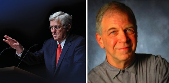 Robert Khayat (left) and J. Fred Knobloch will be featured on the Thacker Mountain Radio Show Feb. 27 at 3 p.m. at the Delta Music Institute.
