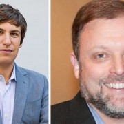 Ari Berman, left, and Tim Wise are the two highlight speakers at the third annual Winning the Race conference at Delta State March 28-29.