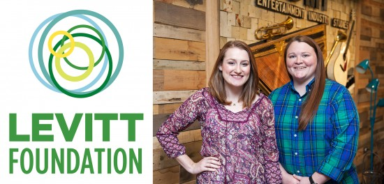 DMI students Brennan Barham (left) and Brittany McGee  will lead this year's  Levitt AMP Grant Awards concert series.