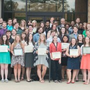 The Delta State University College of Arts & Sciences hosted Honors Day on April 25.