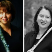 Guest artist Sandra Saathoff (left) will join Delta State's Dr. Shelley Collins for Flute Day April 23.
