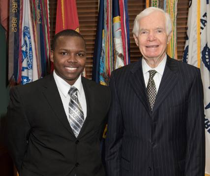 Delta State student Zack Odoms recently completed a semester-long internship for U.S. Senator Thad Cochran (R-Miss.).