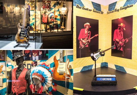 GRAMMY Museum Mississippi has unveiled a new exhibit devoted to the life and music of Stevie Ray Vaughan.