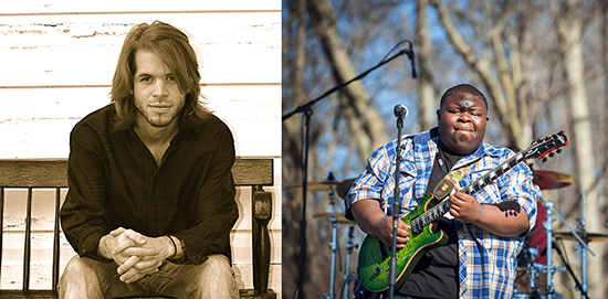GRAMMY Museum® Mississippi will host Wes Sheffield and the Slowburners (left) and Kingfish June 29 at 7:30 p.m. Photos by Todd Wolfson and Rory Doyle.