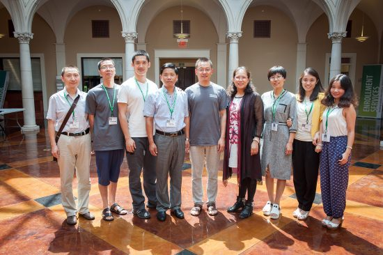 A group of faculty from Anyang Institute of Technology in China recently arrived at Delta State for a two-week exchange program.