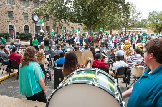 Campus and community will unite Sept. 15 at noon to celebrate the 91st anniversary of Delta State's founding.