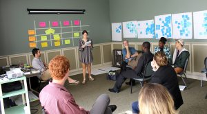 TFA graduate fellows spent the week introducing entrepreneurial perspectives and social issues.