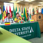 The international student body at Delta State has doubled in three years.