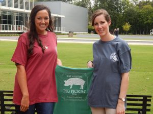 31st annual Pig Pickin' T-shirts.