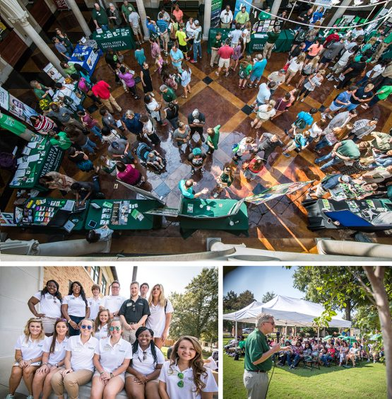 DSU Day brought in 170 future Statesmen prior to this year's Pig Pickin' festivities.