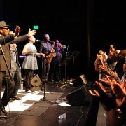 William Bell acknowledges the audience for their standing ovation following his performance at GRAMMY Museum Mississippi on Oct. 12.