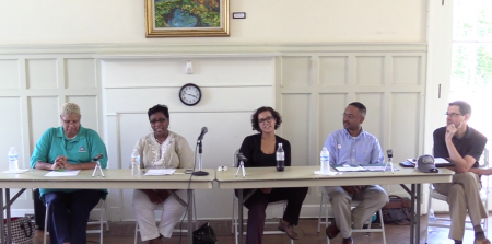Members of Delta State's Delta Center for Culture and Learning, along with members of the Community Center of Economic Development, recently participated in a community development panel discussion at the Coahoma County Higher Education Center in Clarksdale.