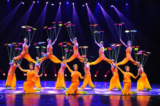 "The Shanghai Acrobats present ""Shanghai Nights!""  Oct. 11 at 7 p.m. at the Bologna Performing Arts Center."