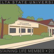 The 2016 Sustaining Life Member Program lapel pin
